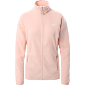 The North Face 100 Glacier Full-Zip Jacket Women evening sand pink